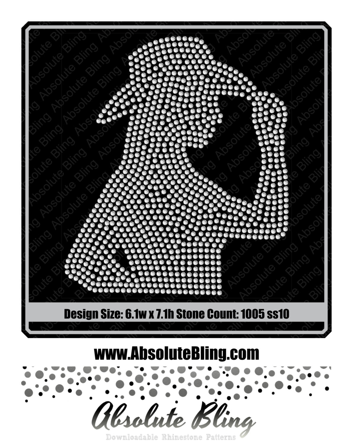 5e1830a5065eb Cowgirl tipping her hat silhouette rhinestone template for cricut ...