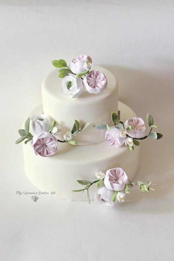 Pfingstrosen Cake Topper Blume Hochzeitstorte Blume Blumen Etsy