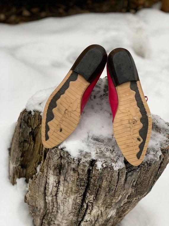 Vintage Boots • Pink Vintage Boots • Vintage Leat… - image 7