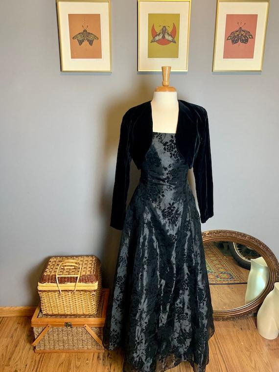Vintage Gunne Sax Dress • Velvet Gunne Sax Dress … - image 6