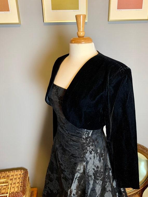 Vintage Gunne Sax Dress • Velvet Gunne Sax Dress … - image 5