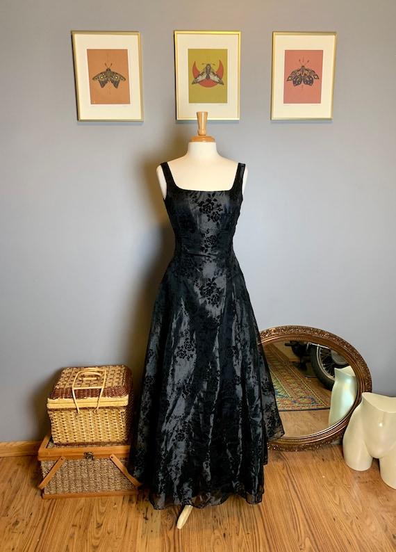 Vintage Gunne Sax Dress • Velvet Gunne Sax Dress … - image 3