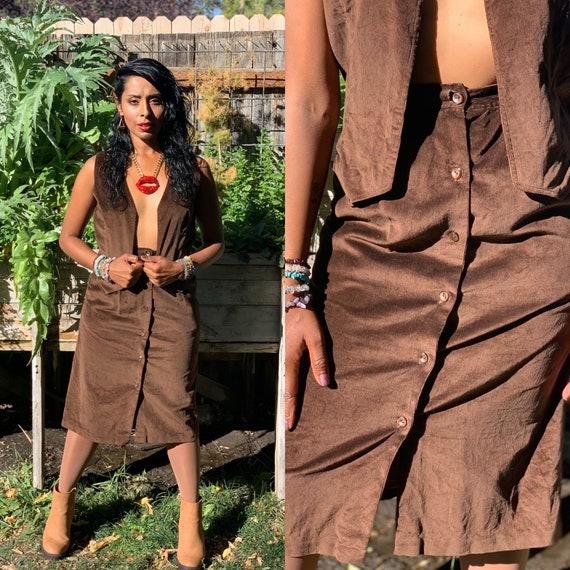 Vintage Corduroy Suit • 1970s Suit • Vintage Skirt