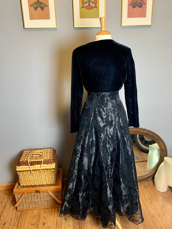 Vintage Gunne Sax Dress • Velvet Gunne Sax Dress … - image 8