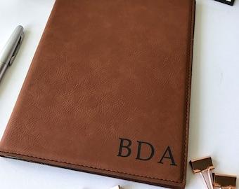 ef164b9eb408 Personalized Leather Portfolio