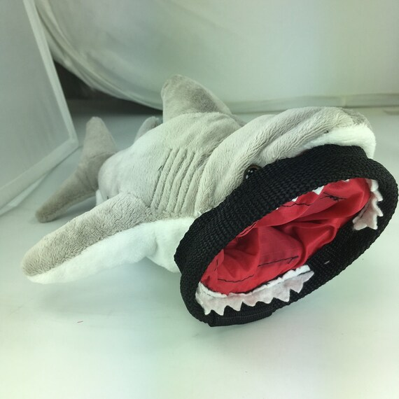 Crimp Chimps Great White Shark Stuffed Animal Chalk Bag Etsy