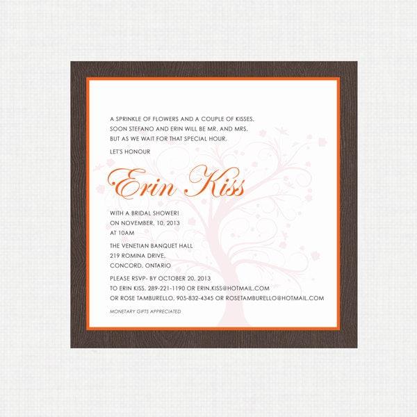 printable wedding shower invitation fall shower invitation autumn wedding digital invitation printable invitation