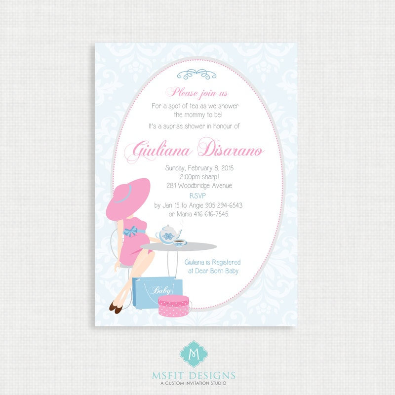 Printable baby shower invitation tea party baby shower invitation printable baby shower invitation tea party baby shower invitation unisex digital printable template diy filmwisefo
