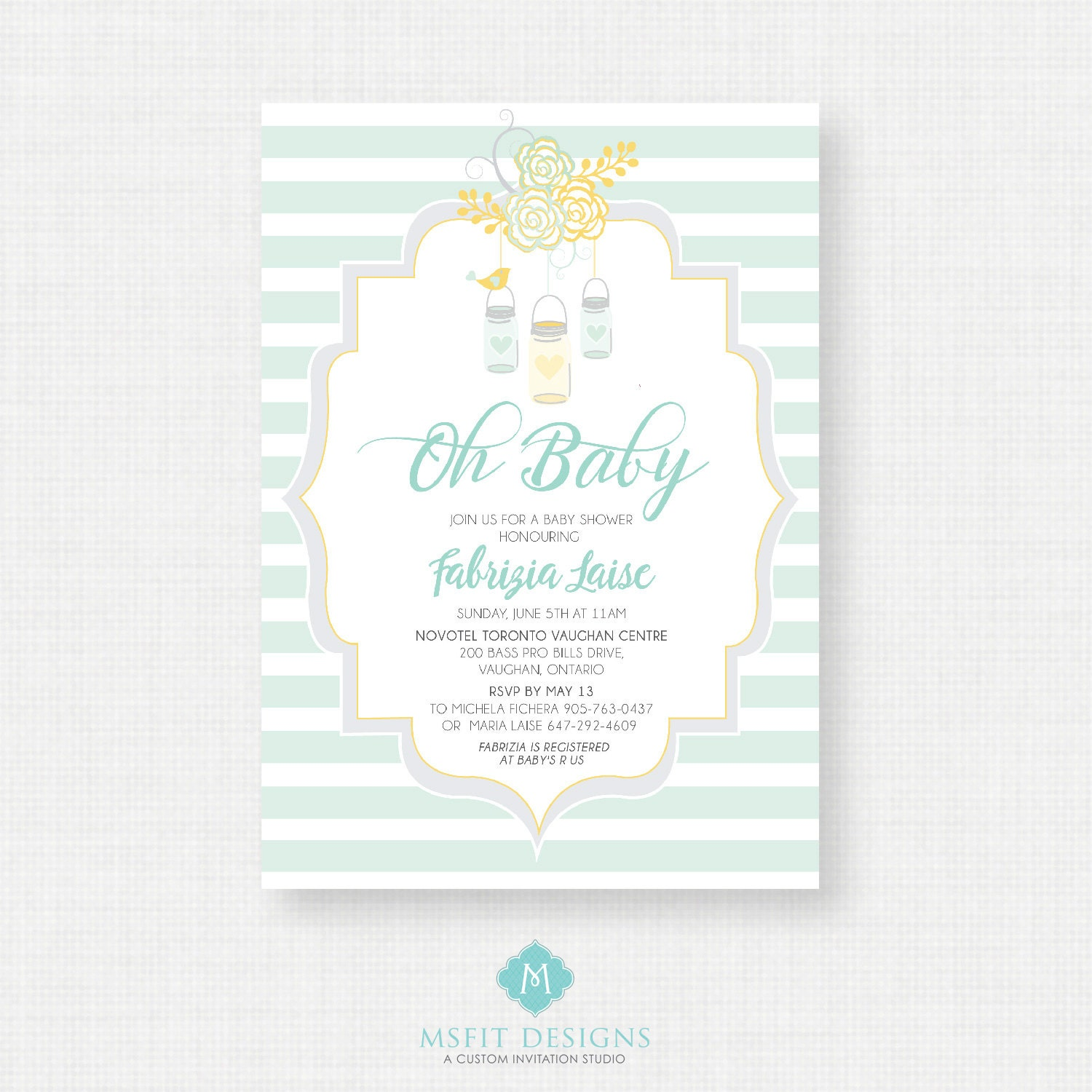Printable baby shower invitation oh baby shower invitation unisex printable baby shower invitation oh baby shower invitation unisex digital printable template diy filmwisefo