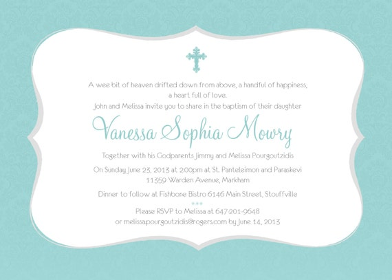 printable baptism invitation girl baptism invitation diy etsy