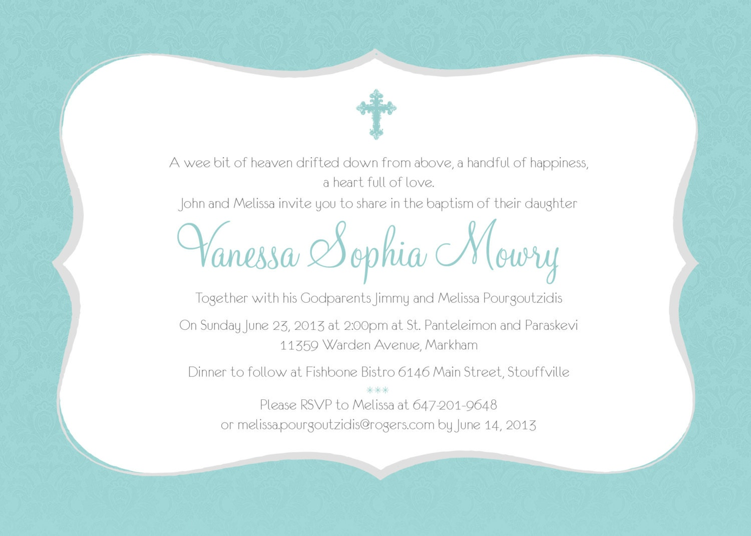 printable baptism invitation girl baptism invitation diy