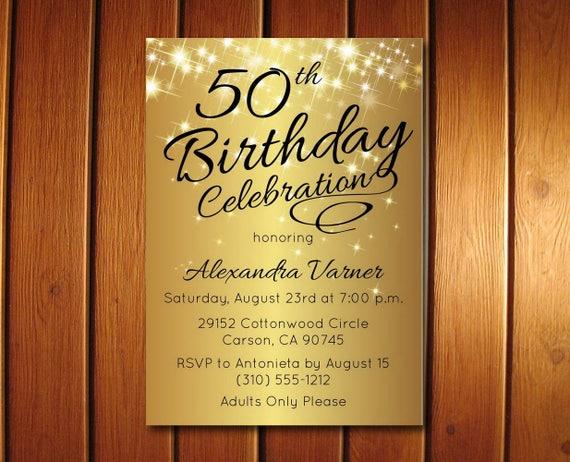 Birthday invitation 50th birthday invitation surprise birthday il570xn filmwisefo