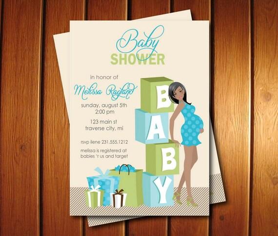 Blocks baby shower invitations boy baby shower invites etsy image 0 filmwisefo
