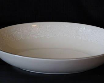 """Gorham Fine China 9"""" Oval Vegetable Serving Bowl"""