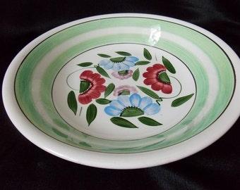 Vintage  S.S. Crown Decorative Serving  Bowl