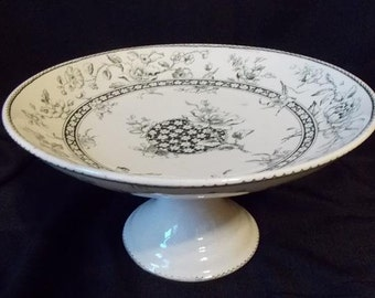 Antique Doulton Burslem Oxford Compote Centerpiece