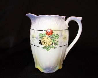 Lusterware Porcelain Creamer Pitcher Bavaria