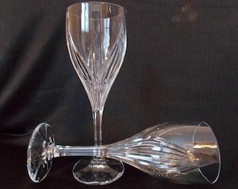 Vintage Lenox Debut  Wine Goblets, Pair