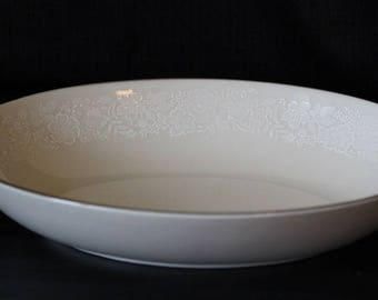 "Gorham Fine China 9"" Oval Vegetable Serving Bowl"