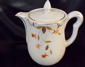 Vintage Hall's Autumn Leaf Coffee Pot