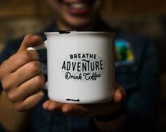 Adventure Stoneware Camp Mug