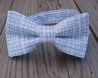 boys white bow tie childrens silver bow tie silver groom tie ring bear groomsman baptism outfit father son boys silver prom tie christening