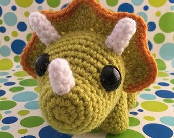 SnuggleMe Triceratops {Dinosaur}
