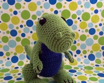 SnuggleMe T-Rex {Dinosaur} PDF Crochet Pattern