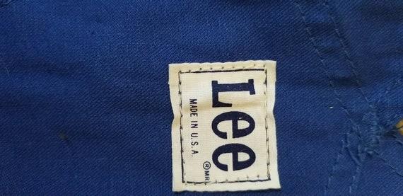 Vintage deadstock Lee overalls - image 7