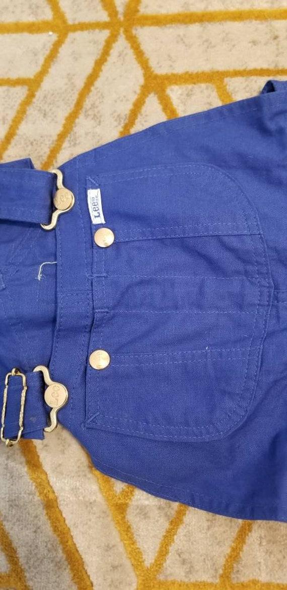Vintage deadstock Lee overalls - image 3
