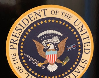 Presidential Seal United States SIZE Vinyl Decal Sticker Car Truck Laptop Wall