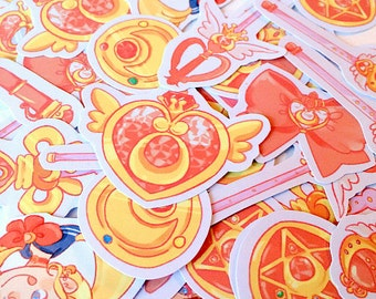 Sailor Moon Accessory Stickers