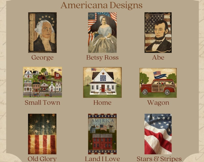 Americana Designs -  Thread Keep - Scissor Fob - Needleminder - Zipper Pull - Necklace