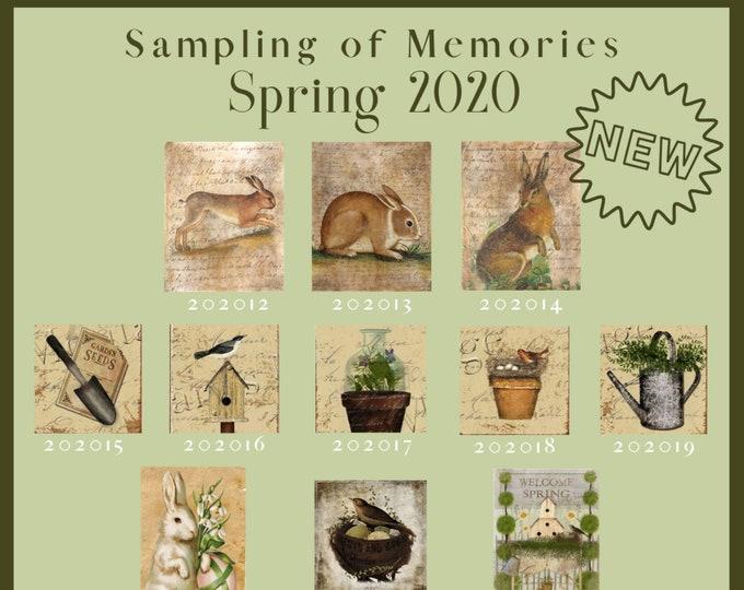Spring 2020 Design Options -  Thread Keep - Scissor Keep - Needle Keep - Necklace Keep