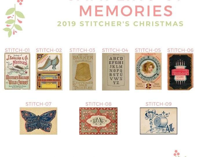 Stitchers Christmas Options -  Thread Keep - Scissor Keep - Needle Keep - Necklace Keep