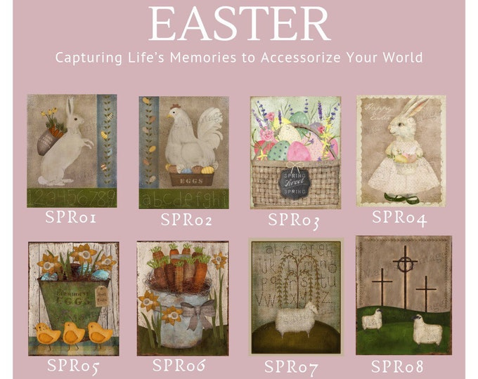 Easter Options -  Thread Keep - Scissor Keep - Needle Keep - Necklace Keep