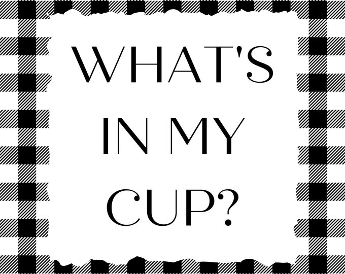 Exclusive - What's In My Cup? from Priscilla & Chelsea of Stitching with the Housewives