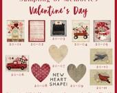 Valentines Day 2020 Options - Thread Keep - Scissor Keep - Needle Keep - Necklace Keep