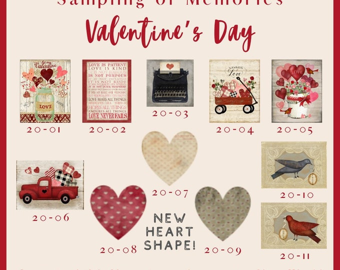 Valentines Day 2020 Options -  Thread Keep - Scissor Keep - Needle Keep - Necklace Keep