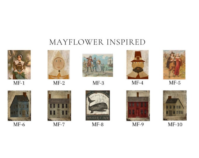 Mayflower Inspired -  Thread Keep - Scissor Fob - Needleminder - Zipper Pull - Necklace