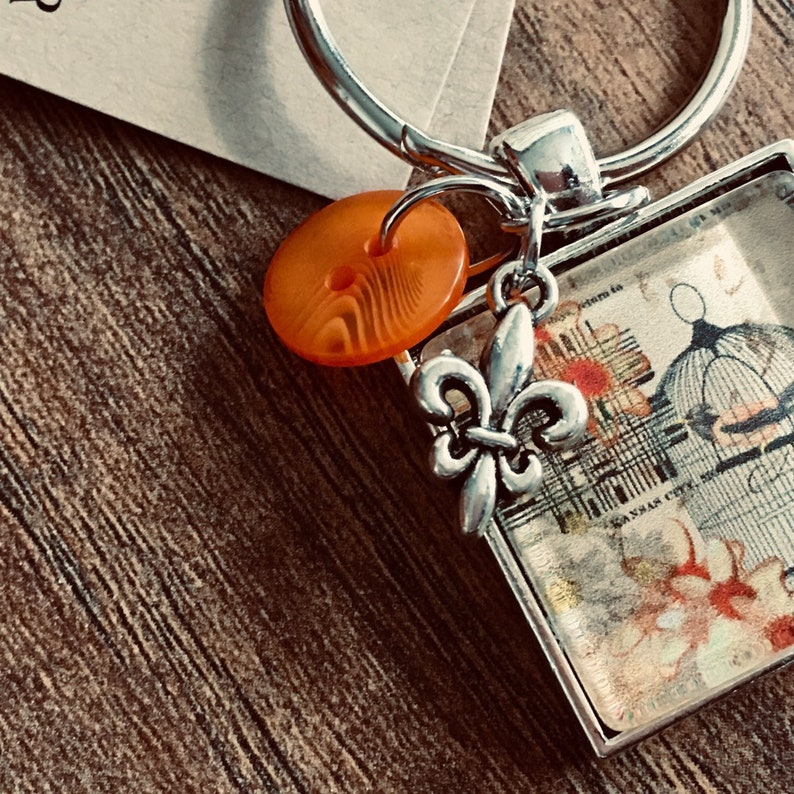 Thread Keep Scissor Keep French Bird Cage Needle Keep Necklace Keep