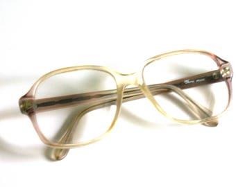 229fbc2f7a4d Vintage Retro Clear Eye Glasses