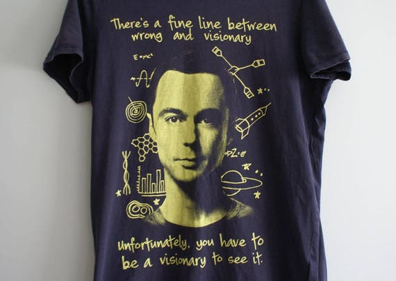 Big Bang Theory  T-shirt, Sheldon Lee Cooper T-shi