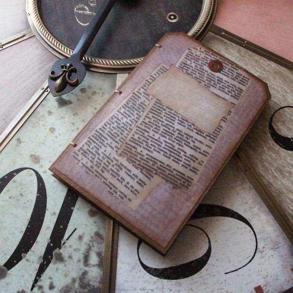 "Tag Shaped Journal Printable ""KIT"""