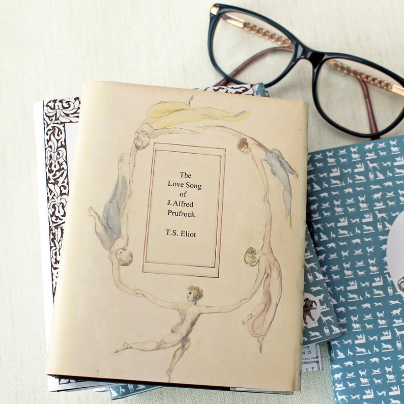 The Love Song of Alfred Prufrock handmade artist book image 0