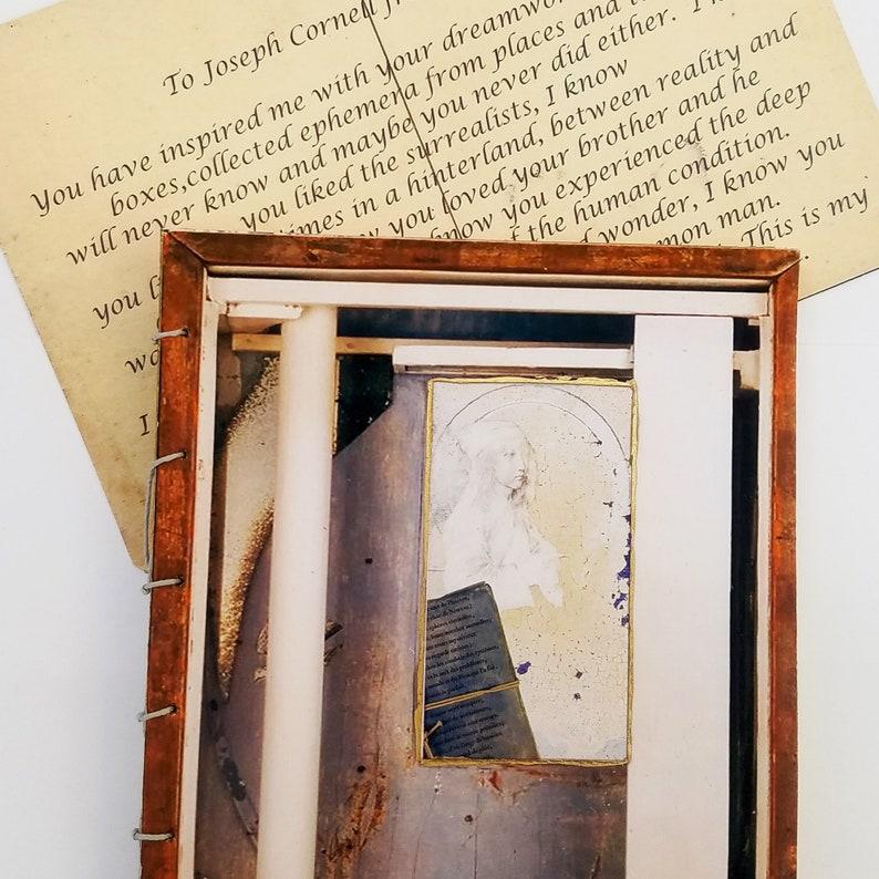 Joseph Cornell  a tribute handmade artist book reader's image 1