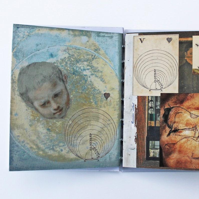 Joseph Cornell  a tribute handmade artist book image 0