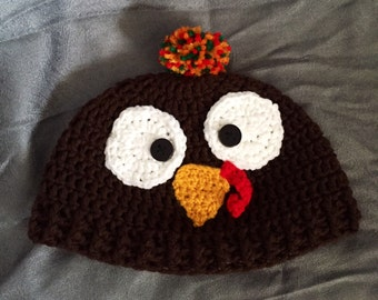 42f07dcf6b4 Turkey hat - made to order  newborn to toddler sizes