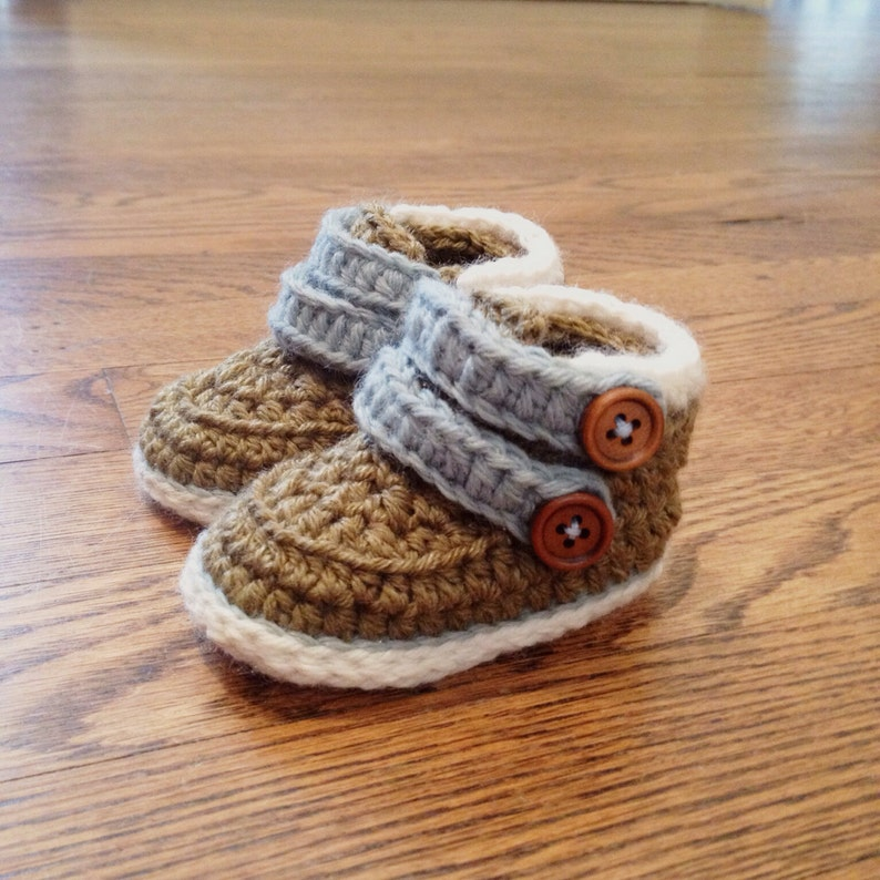 Crochet Baby Boots Cairo image 0