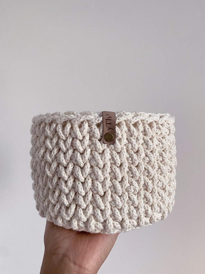 home  crochet basket image 0